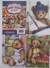 """Hunkydory 24 mixed Toppers from""""Teddy Bears Picnic"""" see pictures see description"""