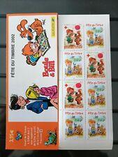 2002 1x Bloc Carnet de France Journée du timbre N° YT 3467a BC3467a Neuf