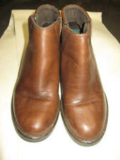 L@@K! Awesome Double H Woman's  Brown Boots  6-1/2M Stacked Heel #1017 VFine  HH