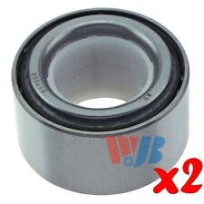 Pair of 2 Front Wheel Bearing / Tapered Roller Bearing WJB WT517009 517009 FW151