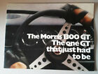 Morris 1300 GT Brochure 1970 {Austin Morris British Leyland 1100 1300}