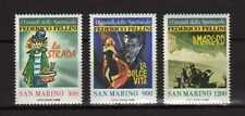 14317) SAN MARINO 1988 MNH** Cinema - Fellini