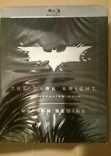Batman Begins Dark Knight french steelbook brand new and sealed