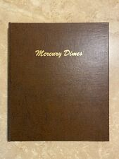1916-1945 Mercury Dime Collection World Coin Library DANSCO # 7123 Album