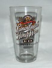 Leinenkugel's Honey Wiess Bier Glass / 16 Fl Oz (0.47 L) Nice Graphics!