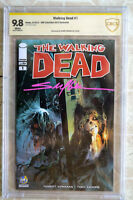 The Walking Dead #1 Wizard World Columbus signed by SAYGER CBCS NOT CGC 9.8