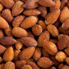 Fresh California Almonds Roasted & Salted 0.5-10 LB