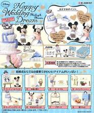 Re-Ment Disney Mickey & Minnie Happy Wedding Dream 8 Pieces Complete Set (1897)