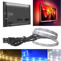 5V 2835 30SMD/50CM White/Warm white/Blue LED Strip Light Bar TV Back Light UK