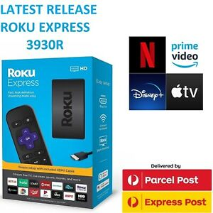 Roku Express 3930R HD 1080p Streamer w/ Netflix Prime Video Disney+ Apple TV
