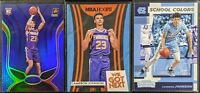 Lot of (3) Cameron Johnson, Including Certified Blue mirror, Hoops insert & more