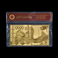 WR Kazakhstan 10000 Tenge Gold Banknote Commemorative Note Collection Set