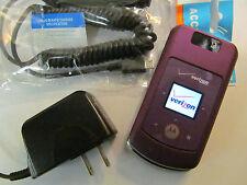 GOOD! Motorola MOTO w755 Camera MP3 Bluetooth CDMA Video Flip VERIZON Cell Phone