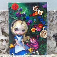 Disney Parks WonderGround Alice in Wonderland Postcard Jasmine Becket-Griffith