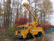 New ListingPeterbilt 320 Aerial Boom Bucket Basket Manlift Truck Caterpillar Diesel bidadoo