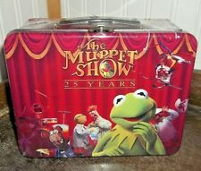 RARE Mint 2003 Muppets 25 Years Collectors Metal Lunch Box Tin TV Show Lunchbox