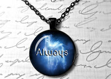 Always Doe Patronus, Harry Potter Symbol, Always glass photo pendant