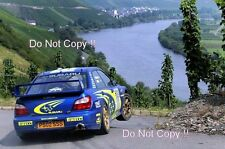 Petter Solberg Subaru Impreza WRC2002 Rallye Deutschland 2002 Photograph