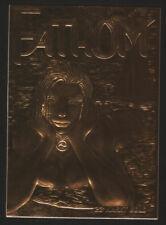 Fathom #0 Top Cow Special Sculptured GOLD Card 23 Karat Michael Turner Aspen NM