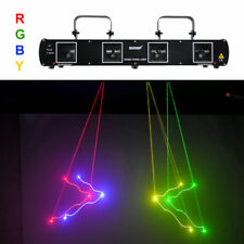 SHINP 4 Lens RGBY DMX 7 CH Laser Projector Lights  Party DJ KTV Stage Lighting