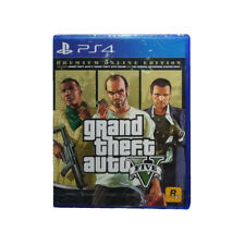 Grand Theft Auto V GTA 5 Premium Online Edition PS4 2018 Chinese Factory Sealed
