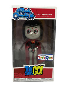 BNIB Funko Rock Candy Toys R Us Exclusive Teen Titans Go! Figure - Raven (Red)