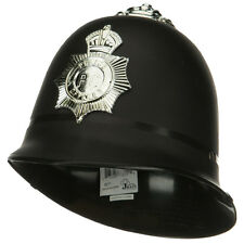 UK English London British Police Bobby Keystone Costume Hat Badge Helmet