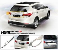 Chrome Trunk Rear Garnish Molding Trim For 2012 2013 2014 Hyundai Santa Fe SPORT