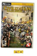 Sid Meiers Civilization IV 4 Warlords Expansion Pack PC Game Strategy