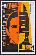 Batman Begins - Re-imagined - Mini Movie Art Poster