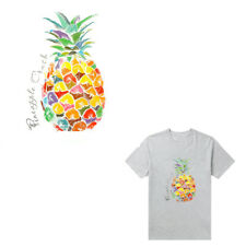Pineapple Patches Stickers for Kids Clothes Iron-on Heat Transfers DIY Decor 3c S