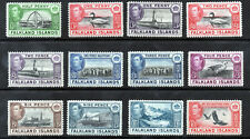 FALKLAND ISLANDS King George VI 1938-50 PART SET SG 146 to SG 159 MINT