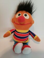 Tyco Sesame Street Beans Ernie Plush Stuffed Animal Toy - 1997