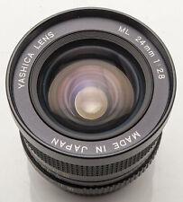 Yashica ML 24mm 24 mm Lens 2.8 1:2 .8 per Contax