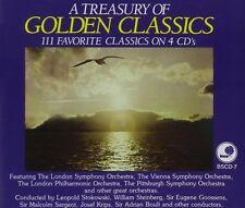FACTORY SEALED Various Artists : A Treasures of Golden Classics 4 CD Set