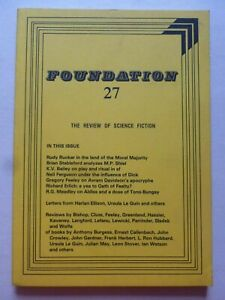 FOUNDATION; THE REVIEW OF SCIENCE FICTION No. 27, Feb 1983 – Harlan Ellison