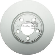 One New ATE Coated Disc Brake Rotor Front 2411307120102 for Ford Jaguar Lincoln