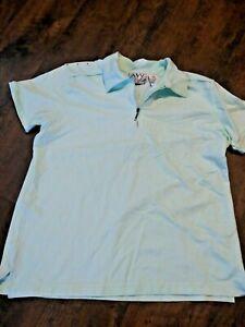 NWT Woman's AW Allyson Whitmore Golf Polo Shirt Light Green PM