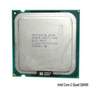 Core 2 Quad Q8400 Quad-Core CPU 2.66 GHz 1333 MHz LGA Socket! T9Z3 C7C7 E0U2