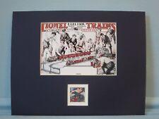 Model Railroads & Lionel Electric Trains & the Model Train Stamp