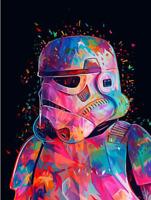 5D DIY Full Drill Diamond Painting Embroidery Kit Art Craft Home Decor Star Wars