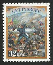 US Civil War Battle of Gettysburg Robert E. Lee George Mead Pickett's Stamp MINT