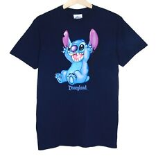 Vintage Lilo and Stitch Disneyland Unisex T-Shirt Size Small Disney Animated
