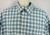 LL Bean Men's Shirt, Large, Pre-owned, Long Sleeve 100% Cotton