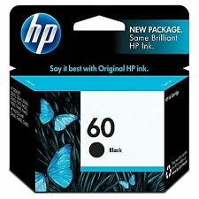 HP 60 | Ink Cartridge | Black | ~200 pages| CC640WN