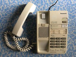 VINTAGE PANASONIC EASA-PHONE KX-T2390 TELEFONO CON SEGRETERIA TELEFONICA