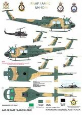 1/35 RAAF/Army Decals; Bell UH-1D/H 'Huey' Iroquois