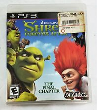 Shrek Forever After The Final Chapter (Sony PlayStation 3 Ps3, 2010) Complete