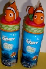 Disney Finding Dory Nemo Bubbles 8 fl oz with Wand 3yr 8 FL Oz, 2 Bottles
