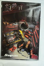 """NEW"" Snap-on Tools Advertising Poster - Shop Man Cave Home Garage Vintage NOS#2"